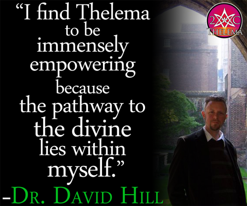 2C Thelema - Dr. David Hill