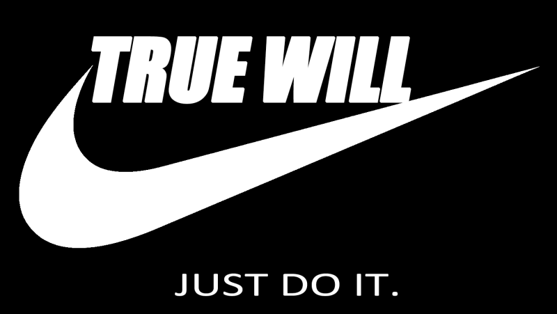 Thelema: Just Do It.
