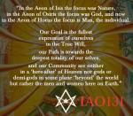 IAO131 on the Goal, Path, and Community of Thelema