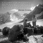 Aleister Crowley on K2
