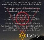 From IAO131's 'Manifesto of Ra-Hoor-Khuit'