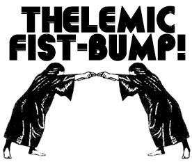 Thelemic Fist-Bump